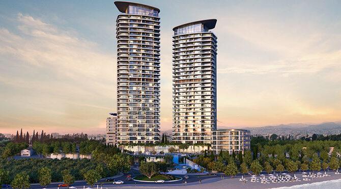 Апартаменты на продажу в комплексе limassol blu marine