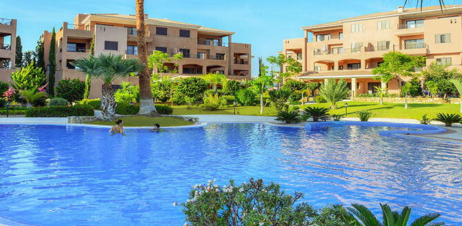 aphrodite gardens продажа апартаментов в Пафосе