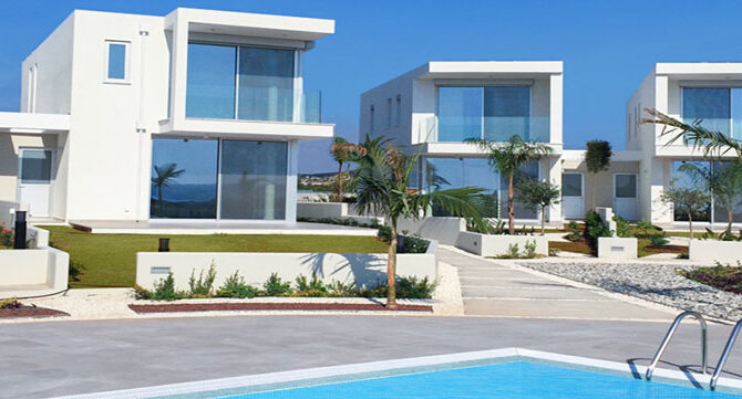 Комплекс coral seas villas Пафос