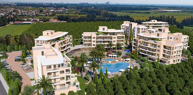 Купить апартаменты в комплексе limassol park