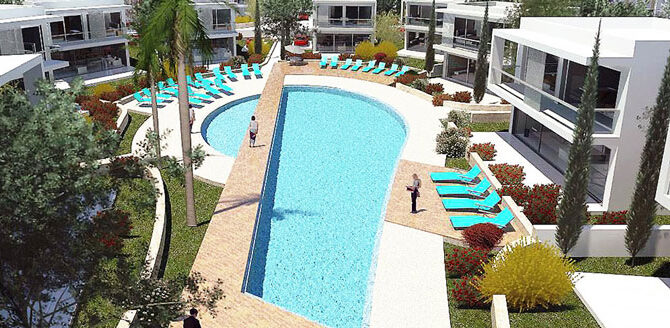 Купить виллу в coral bay iasonas beach villas