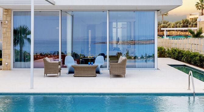 Купить виллу в комплексе coral seas villas Пафос