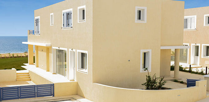 Купить виллу в Пафосе kissonerga beach villas