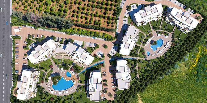 недвижимость комплекс limassol park