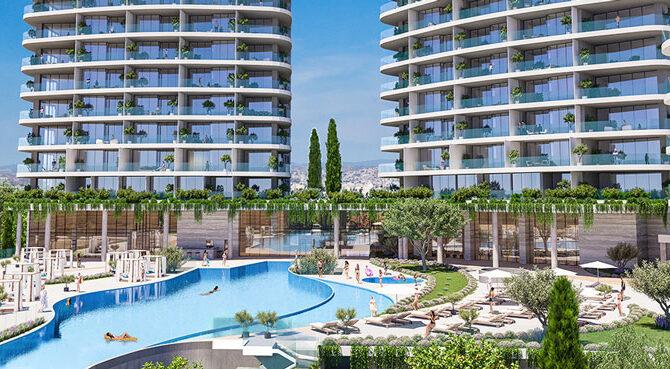 продажа апартаментов комплексе limassol blu marine