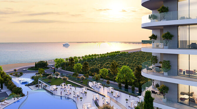 продажа апартаментов комплексе limassol blu marine на Кипре застройщик