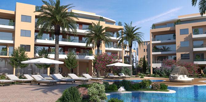 Продажа апартаментов в комплексе limassol park
