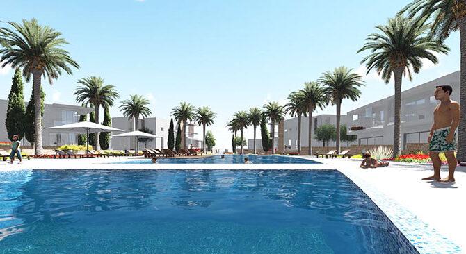 Продажа дома в комплексе coral seas villas Корал Бэй Кипр