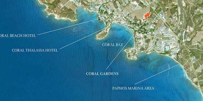 Продажа квартир в Coral Gardens Пафос