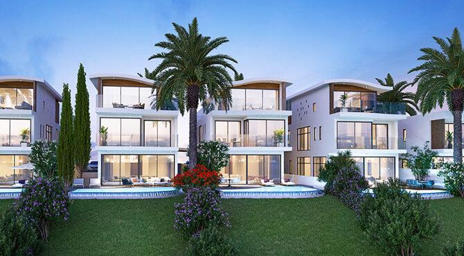 Виллы в Armonia Beach Villas Пафос Кипр