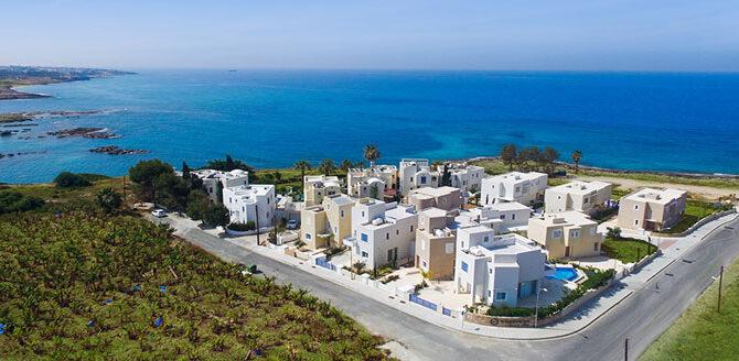 Виллы в kissonerga beach villas Кипр