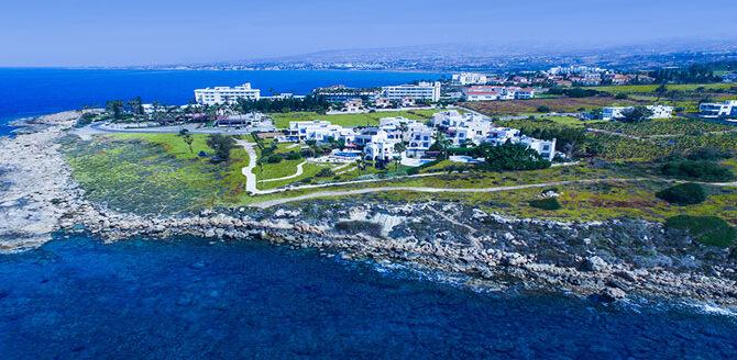 Виллы в kissonerga beach villas Кипр Пафос