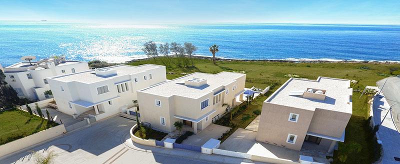 Виллы в kissonerga beach villas в Пафос