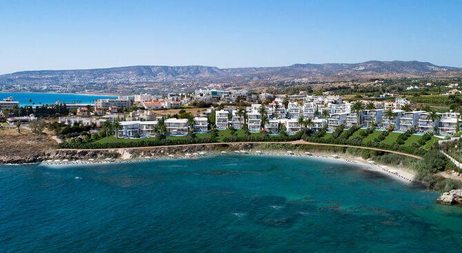 Виллы в комплексе Armonia Beach Villas Кипр Пафос