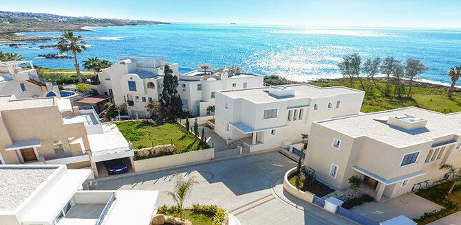Виллы в Пафосе kissonerga beach villas
