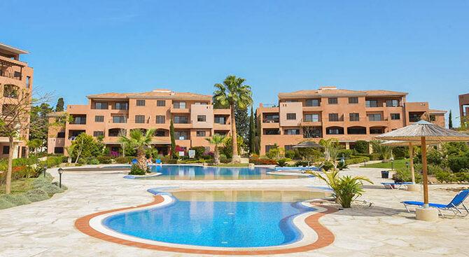 Продажа квартир в комплексе aphrodite gardens Кипр Пафос
