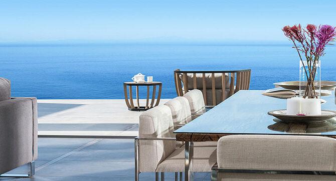 Продажа виллы возле моря в комплексе Adonis Beach Villas в Пафосе