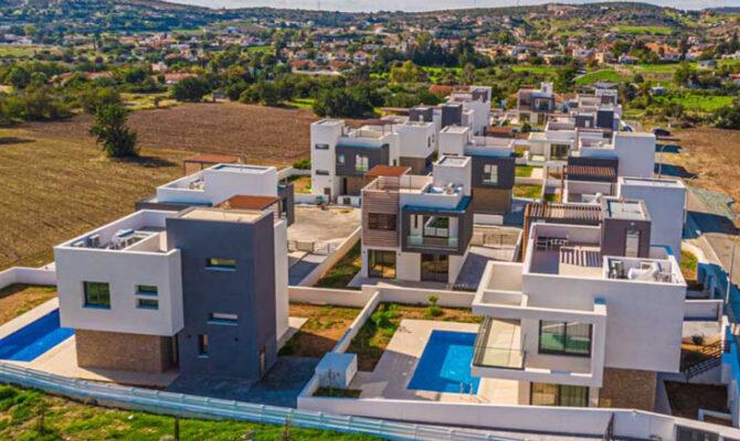Купить дом в комплексе grand valley homes Пиргос Лимассол