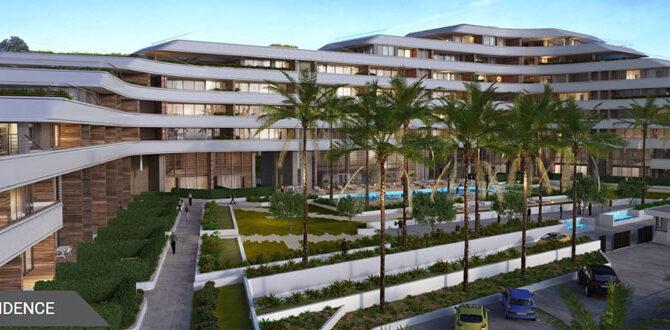 Продажа апартаментов в комплексе eden roc residence Кипр Лимассол