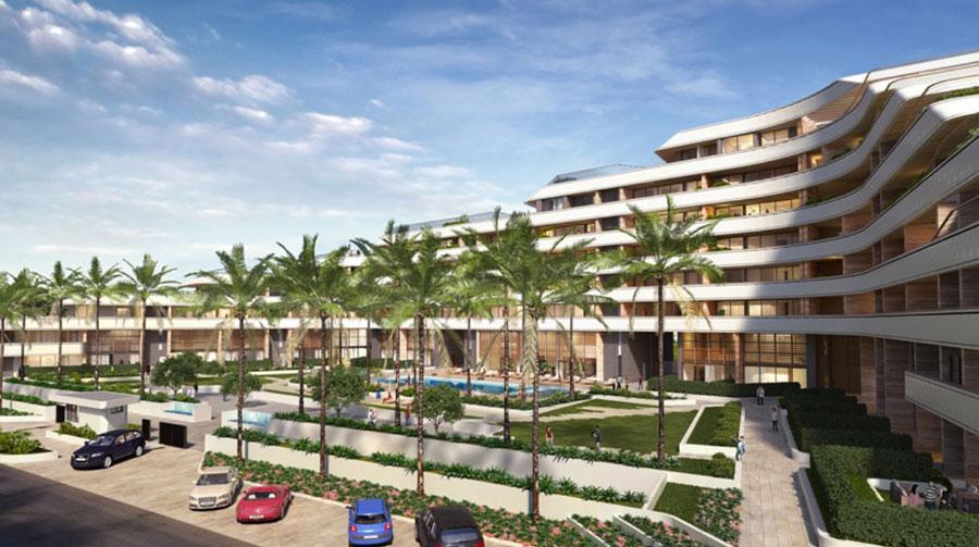 Продажа апартаментов в комплексе eden roc residence Лимассол Кипр