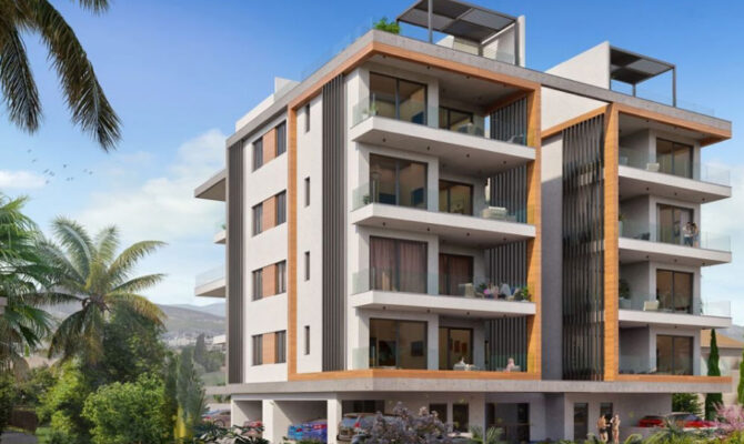 Продажа апартаментов в комплексе kiwi residence Лимассол Кипр