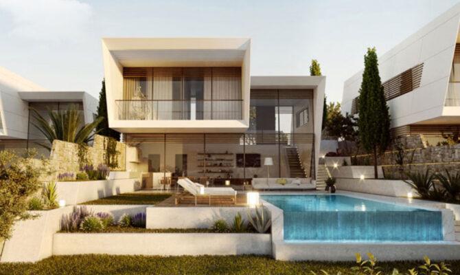 Продажа дома в комплексе hillside villas Лимассол