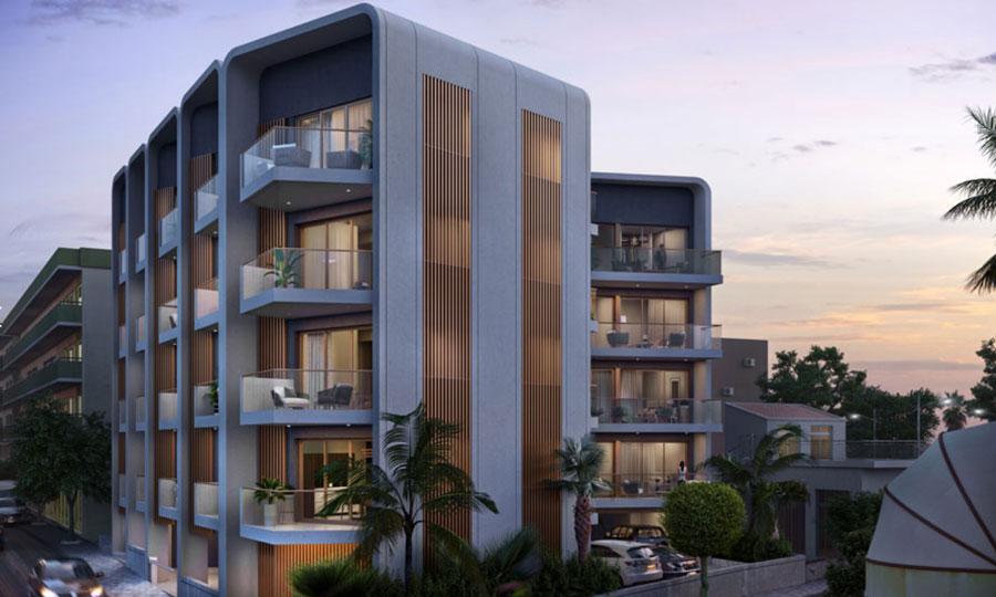 Продажа квартир в комплексе library lofts Кипр Лимассол