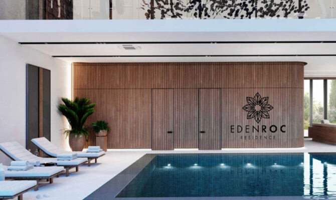 Продажа недвижимости в комплексе eden roc residence Лимассол Кипр