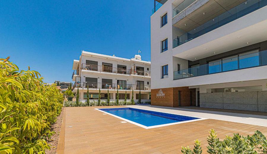 Продажа пентхауса в комплексе sunbury house Кипр Лимассол