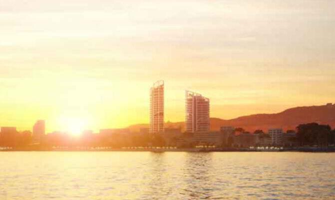 Продажа студии в комплексе infinity towers Лимассол Кипр