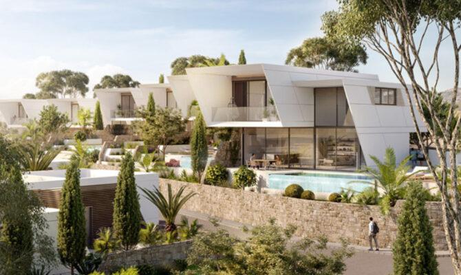Продажа вилл в комплексе hillside villas Лимассол