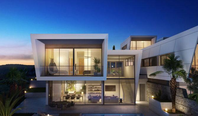 Продажа вилл в комплексе hillside villas Лимассоле