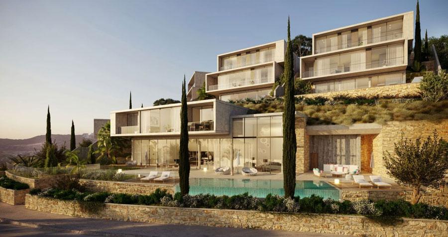 Продажа виллы в комплексе montebello mansions Лимассол Кипр