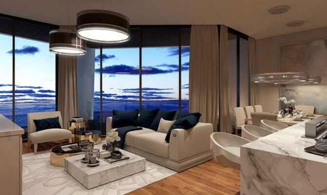 Продажа апартаментов на Кипре sky tower
