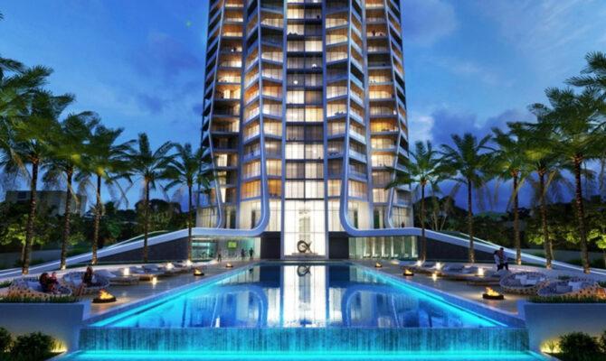 Продажа апартаментов в комплексе sky tower Лимассол