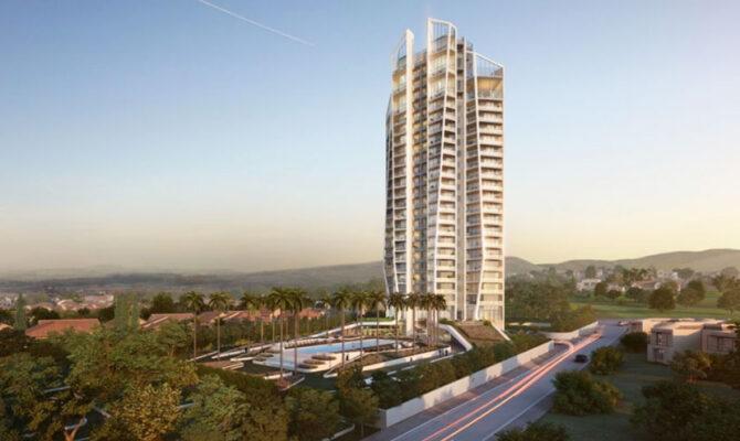 Продажа апартаментов в комплексе sky tower на Кипре