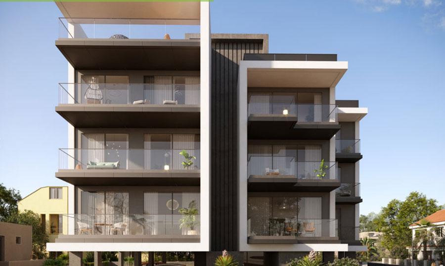 Продажа апартаментов в комплексе greenford place Кипр Лимассол