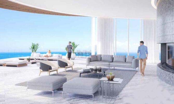 Продажа элитных апартаментов в Айя-Напе на первой линии моря