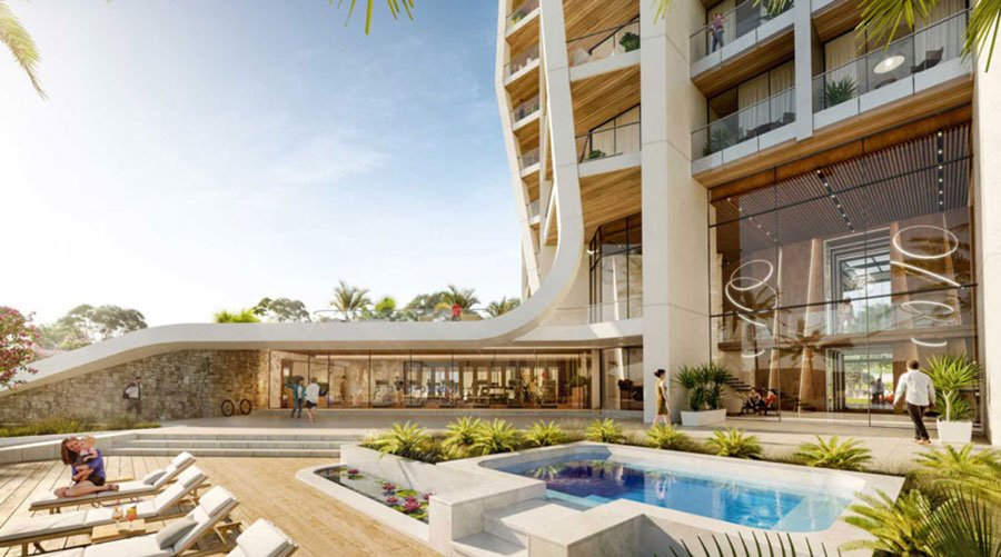 Продажа квартир в комплексе sky tower Лимассол Кипр