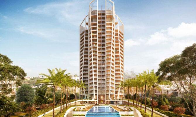 Продажа недвижимости на Кипре в комплексе sky tower