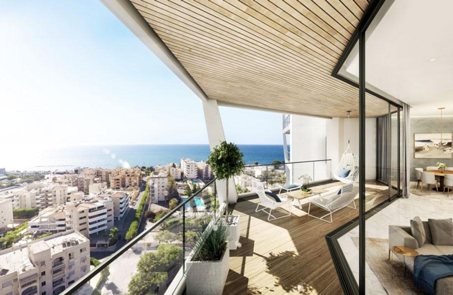 Продажа недвижимости в комплексе sky tower Кипр