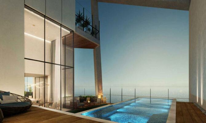 Продажа недвижимости в комплексе sky tower Лимассол Кипр
