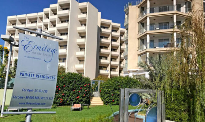 купить апартаменты у моря в комплексе The Ermitage Лимассол