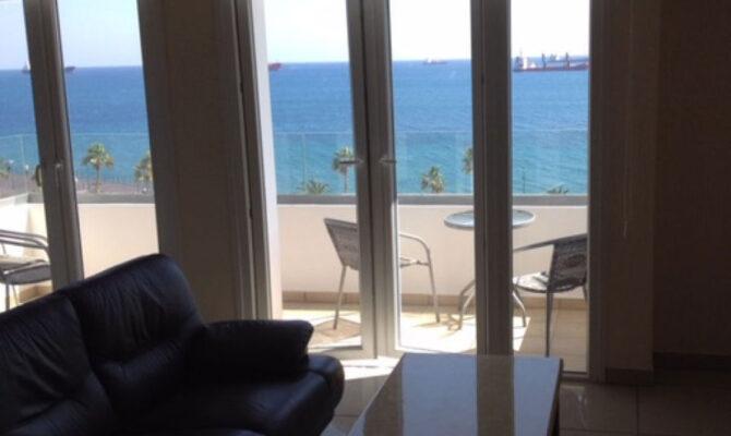 Продажа квартиры на первой линии моря в Лимассоле