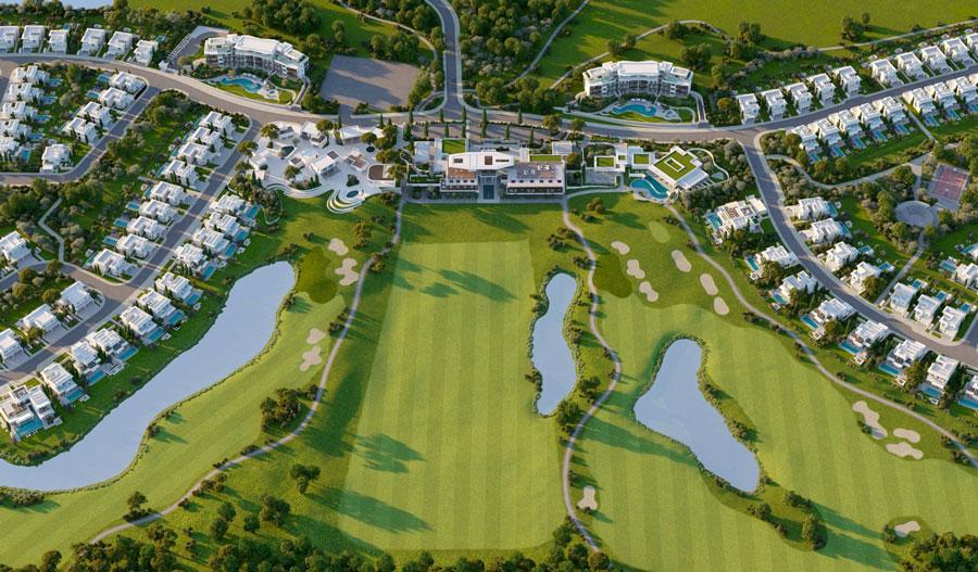 Продажа земельных участков в Лимассоле на гольф поле