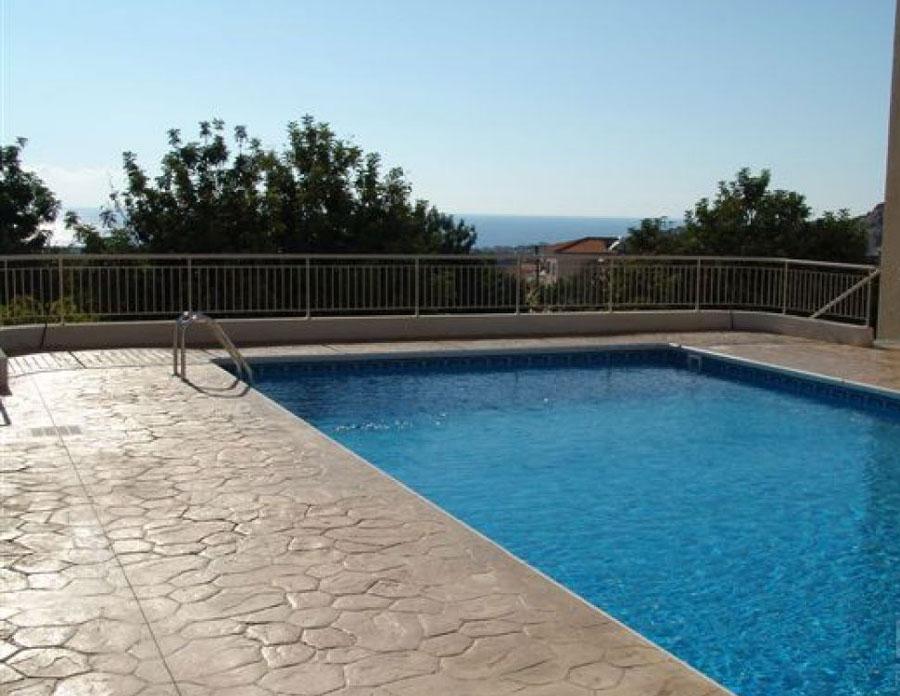 недвижимость с видом на море в Пейе Пафос