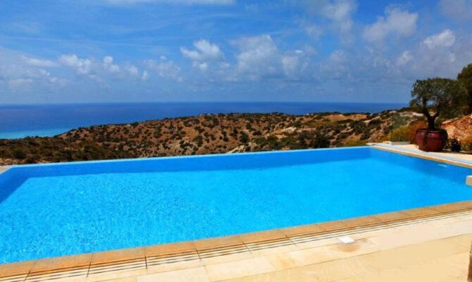 Продажа бунгало с видом на море в Афродита Хилс Пафос