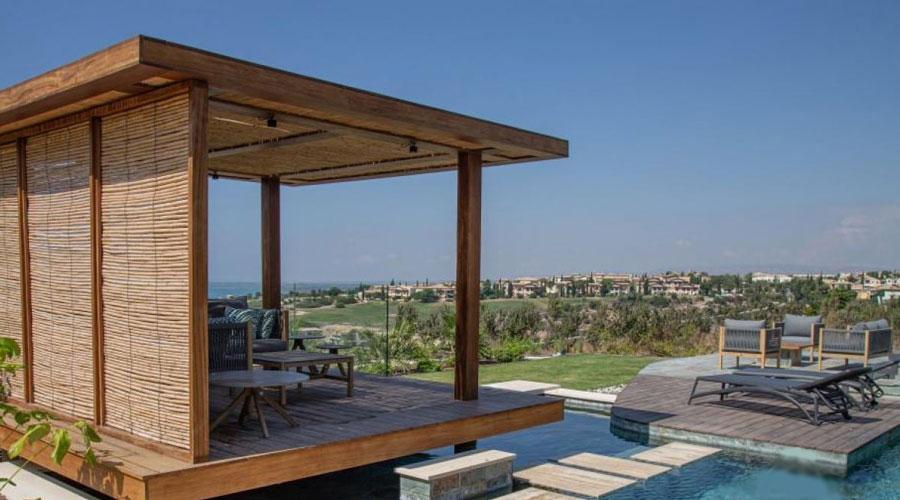 Продажа люксовых вилл с видом на море в Пафосе